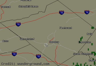 Berks County Nexrad Radar
